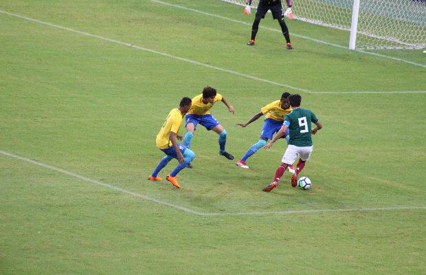 66a55b9e25d5b Com vaias no final, Brasil e México empatam sem gols em amistoso no Sub-20,  em Manaus - SportsManaus
